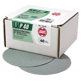 Shopsmith 50-Pack 40-Grit 5-in W X 5-in L Sandpaper Discs 12401