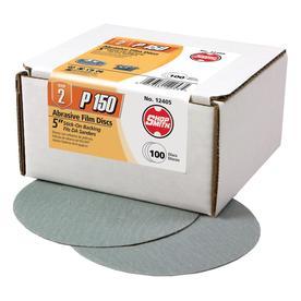 Shopsmith 100-Pack 150-Grit 5-in W X 5-in L Sandpaper Discs 12405