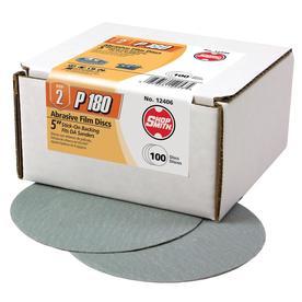 Shopsmith 100-Pack 180-Grit 5-in W x 5-in L Sanding Discs Sandpaper 12406