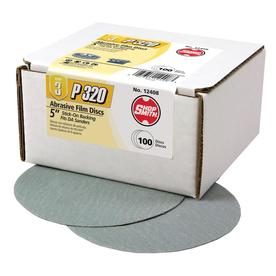 Shopsmith 100-Pack 320-Grit 5-in W x 5-in L Sanding Discs Sandpaper 12408