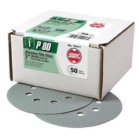 Shopsmith 50-Pack 5-in W x 5-in L 80-Grit Commercial Sanding Discs Sandpaper