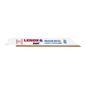 LENOX 5-Pack 6-in 18-TPI Bi-Metal Reciprocating Saw Blade Set