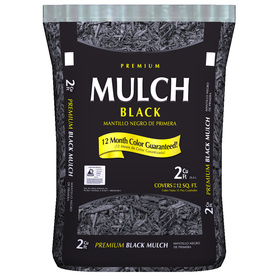 082567032649lg Dark Brown, Black, or Red Hardwood Mulch: 2 cu ft for $1.60! Plus $10 off $50 Purchase!