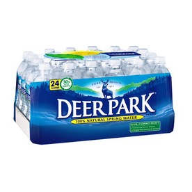 Deer Park 24-Pack 16.9-fl oz Spring Water