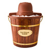 Nostalgia Electrics 4-Quart Wooden Bucket Electric Ice Cream Maker
