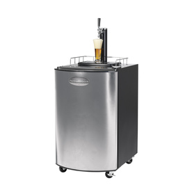 Nostalgia Electrics Stainless Steel Freestanding Kegerator