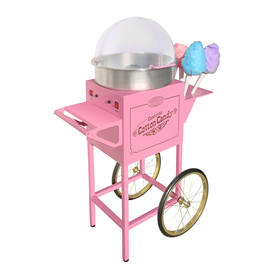 Nostalgia Electrics Pink Cotton Candy Maker Cart CCM-600