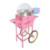 Nostalgia Electrics Pink Cotton Candy Maker Cart