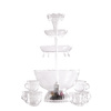 Nostalgia Electrics 3-Tier Beverage Fountain