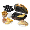 Nostalgia Electrics 10-in L x 10-in W Non-Stick Cooking Surface Contact Grill