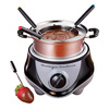 Nostalgia Electrics 32 oz Stainless Steel Fondue Pot
