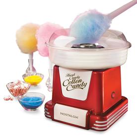 Nostalgia Electrics Red Countertop Cotton Candy Maker PCM-805RETRORED