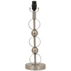 Portfolio 18-1/2-in 3-Way Brushed Steel Circle Table Lamp Base
