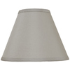 Portfolio 8-1/2-in x 11-in Silver Drum Lamp Shade