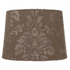 Portfolio 10-in x 14-in Taupe Drum Lamp Shade