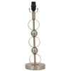 Portfolio 18-1/2-in Brushed Steel Circle Table Lamp Base