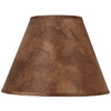 Portfolio 11-in x 15-in Rust Cone Lamp Shade