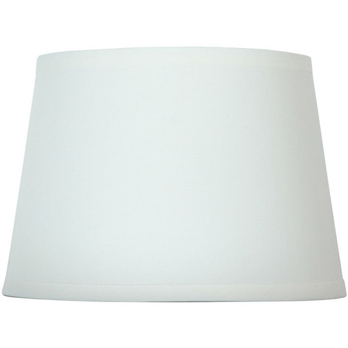 "Zoomed: Portfolio 7"" x 10"" Off-White Drum Lamp Shade"