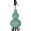 Style Selections 16.25-in Blue Lamp Base