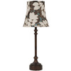 Jimco 23-in Bronze Table Lamp with Multicolor Shade
