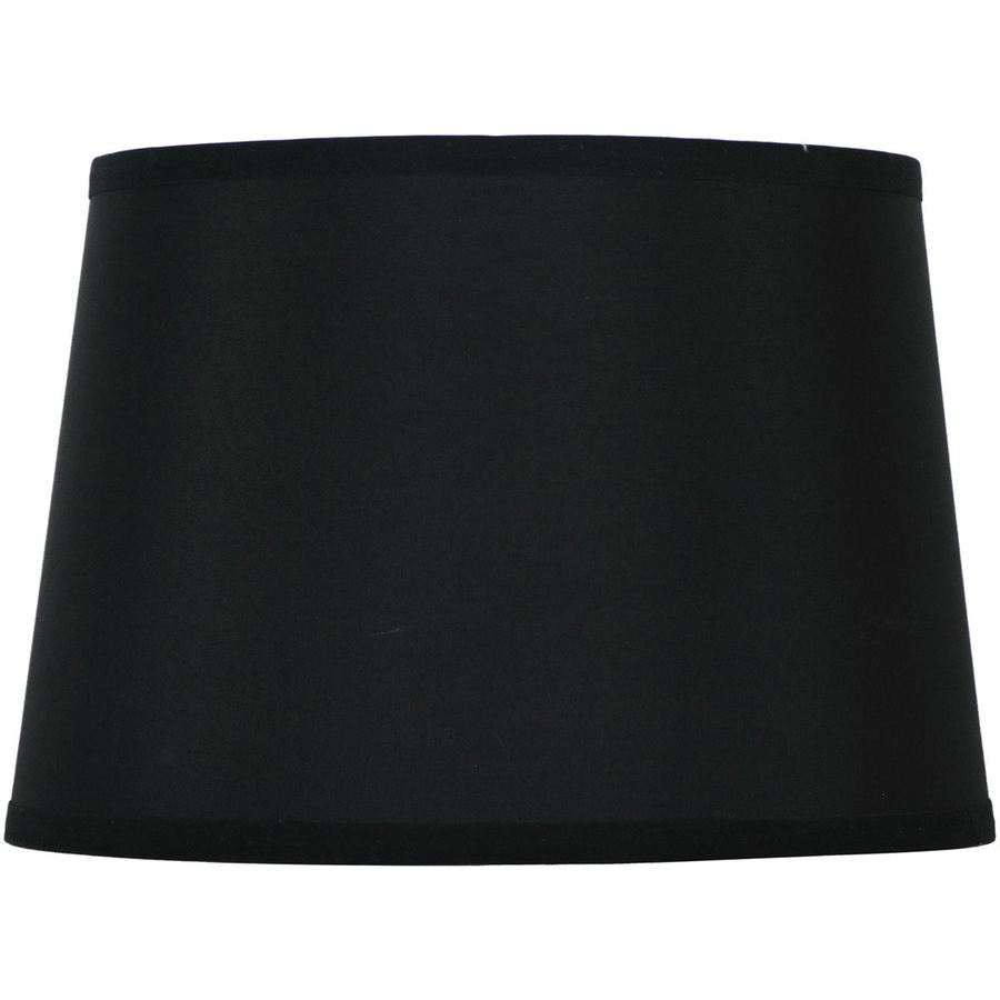 Black Drum Lamp Shades on Shop Style Selections 9  X 13  Black Drum Lamp Shade At Lowes Com