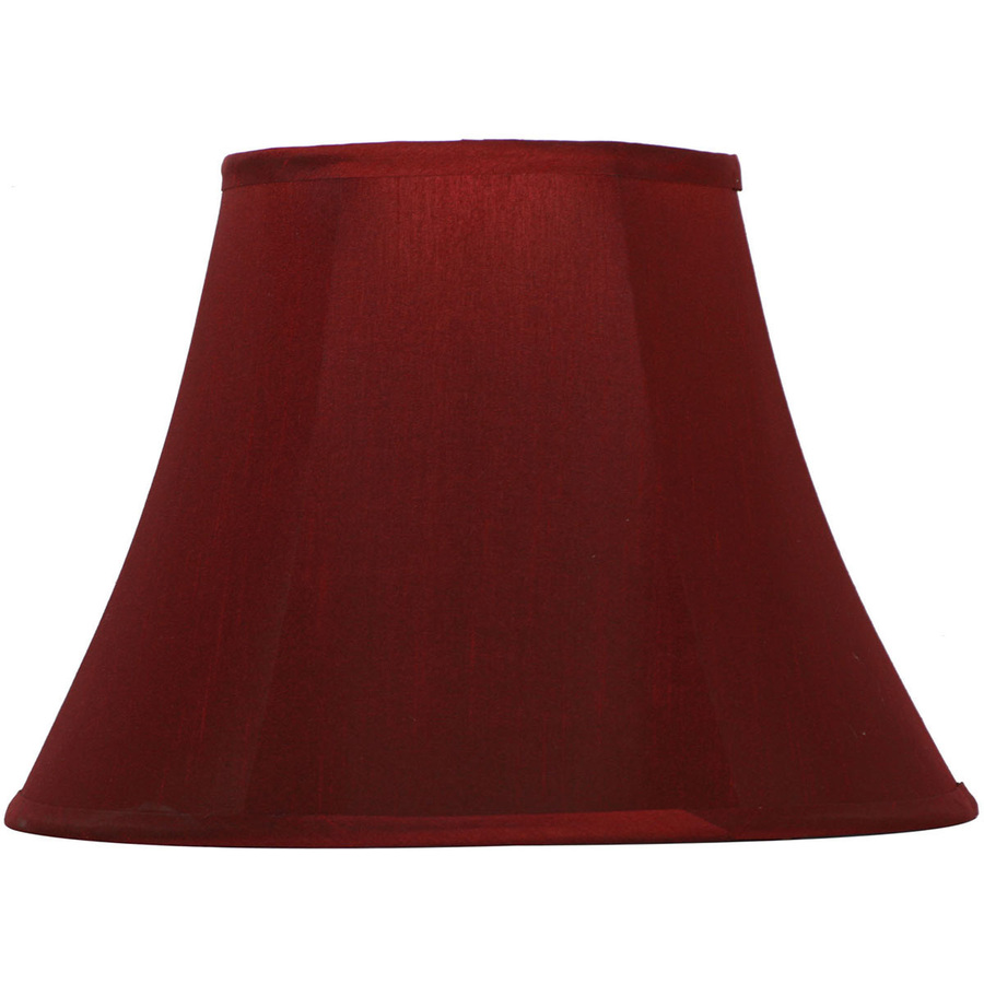 Shop Portfolio 11 In X 15 In Red Bell Lamp Shade At