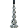 Style Selections 17-1/2-in Chrome Lamp Base