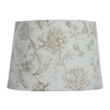 Style Selections 9-in x 13-in Cream Drum Lamp Shade