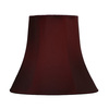 Style Selections 8-in x 9-in Red Bell Lamp Shade