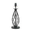 allen + roth 18.5-in Black Lamp Base