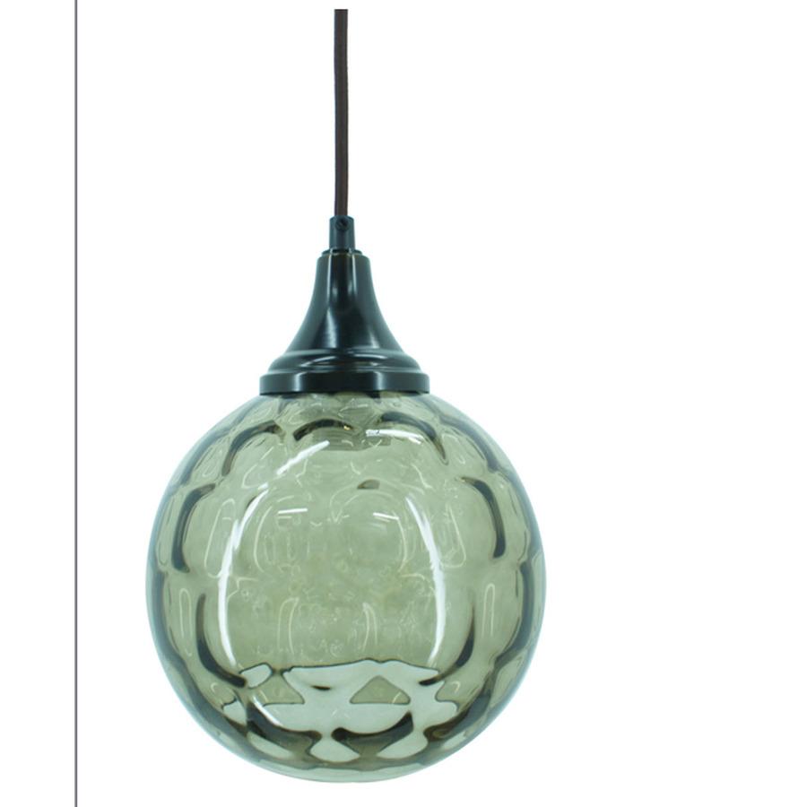 shop allen roth 7 in w oil rubbed bronze mini pendant light with. Black Bedroom Furniture Sets. Home Design Ideas
