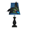 Jimco 11-in Black Indoor Table Lamp with Fabric Shade
