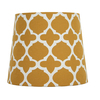 Portfolio 8-1/2-in x 10-in Yellow Drum Lamp Shade