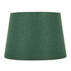 allen + roth 7-in x 10-in Green Fabric Drum Lamp Shade
