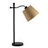 allen + roth 24-in Aged Bronze Indoor Table Lamp with Fabric Shade