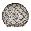 6.25-in H x 7.5-in W Rope Glass Mix and Match Mini Pendant Light Shade