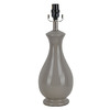 allen + roth 18-in Gray Lamp Base