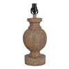 allen + roth 17-in Wood Lamp Base