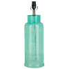 allen + roth 21.5-in 3-Way Turquoise Lamp Base