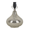 allen + roth 10.5-in Mercury Swirl Lamp Base