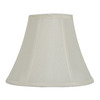 allen + roth 8-in x 10-in Off White Fabric Bell Lamp Shade
