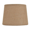 allen + roth 4.5-in x 6-in Tan Burlap Fabric Drum Lamp Shade