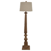 allen + roth Edensley 58-in 3-Way Switch Saddle Indoor Floor Lamp with Fabric Shade