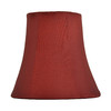allen + roth 5-in x 3.25-in Red Fabric Bell Lamp Shade