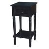 Ebony Oak Accent Table Set