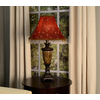 allen + roth 12-in x 16-in Red Fabric Bell Lamp Shade