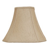 Portfolio 12-in x 16-in Silken Toast Bell Lamp Shade
