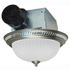 Air King 4-Sone 70-CFM Nickel Bathroom Fan with Light