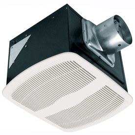 Air King 0.6-Sone 80 CFM White Bathroom Fan ENERGY STAR