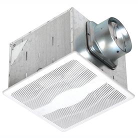 Air King 0.3-Sone 130-CFM White Bathroom Fan ENERGY STAR